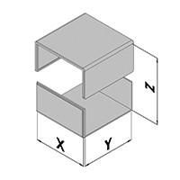 Elektronicabehuizing EC10-2xx