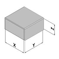 Elektronicabehuizing EC10-3xx