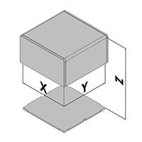 Elektronicabehuizing EC10-4xx