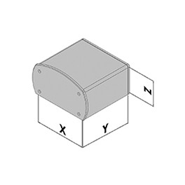 Kunststof behuizing EC30-810-6