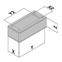 Handbehuizing EC60-8xx