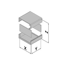 Kunststof behuizing EC10-100-1