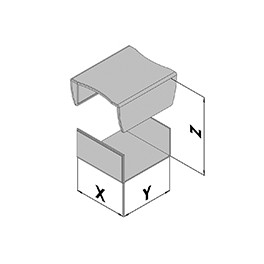 Kunststof behuizing EC10-200-6
