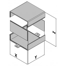 Kunststof behuizing EC10-100-04