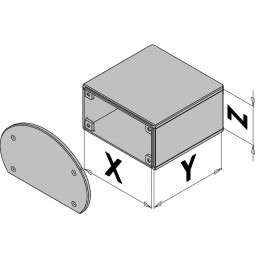 Kunststof behuizing EC30-410-6