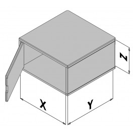 Kunststof behuizing EC30-430-0
