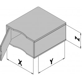 Kunststof behuizing EC30-430-6