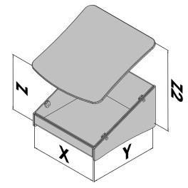 Tafelbehuizing EC40-460-6